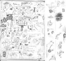Doodle Brush Set 2 by SuperCookiez