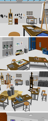Retronator HQ art studio by Retronator