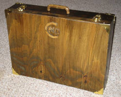 Wooden Briefcase 1 of 4 by NickDClements
