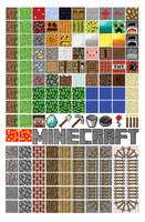 Minecraft Magnet Set by NickDClements
