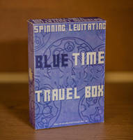 Spinning, Levitating 'Blue Time Travel Box' 2of9 by NickDClements