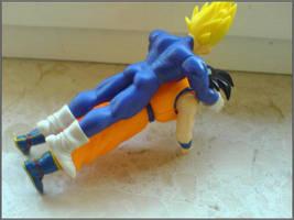 Vegeta + Goku by mystic2k