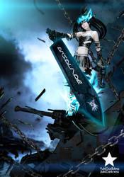 Black Rock Shooter Beast by yukigodbless