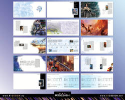 Square Enix -annual Report - by R1Design