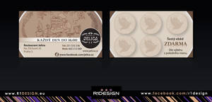 Jelica - Restaurant ( stamp card) by R1Design