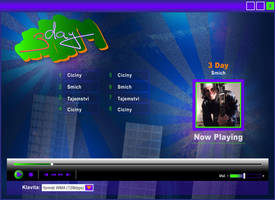 3day , web - player by R1Design
