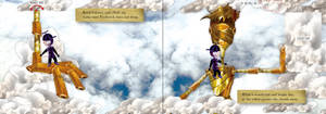 9a-Spread 8-closed flap- Children's book by R1Design
