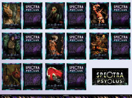 Spectra Psyclus - cards -presentation 3 of 4 by R1Design