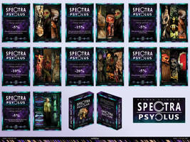 Spectra Psyclus - cards -presentation 4 of 4 by R1Design