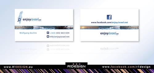 enjoyisrael.net BUSINESS CARD by R1Design