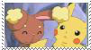 PikachuxBuneary Stamp by sonic2344