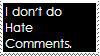 Anti Hate Comments Stamp by sonic2344