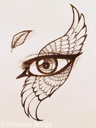 angel's eye by Primeval-Wings