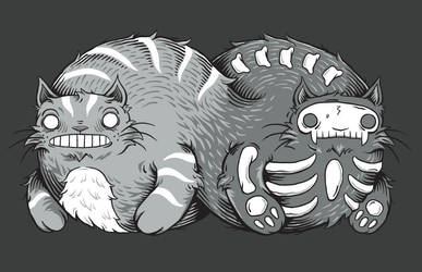 Curiosity of the Quantum Cat by gremz