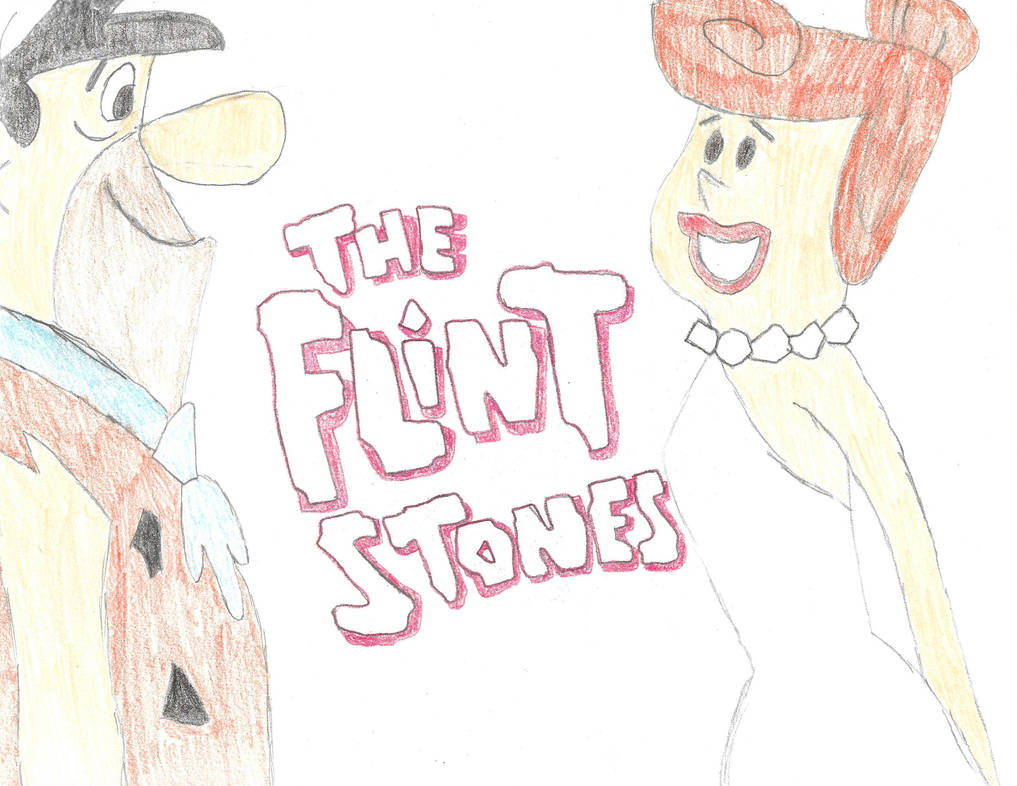 My Flintstones Drawing by Doctorjazzman1