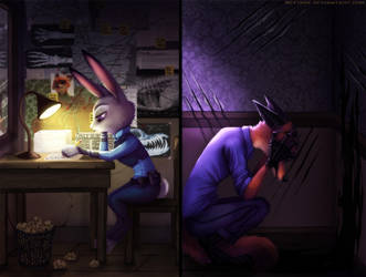 Don't give up (Zootopia Story) 4 by Neytirix