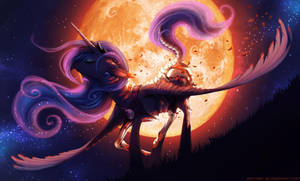 Scorching Moonlight (MLP) by Neytirix