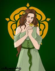 Margaery Tyrell by chillyravenart