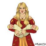 Joanna Lannister by chillyravenart