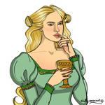 Cersei by chillyravenart