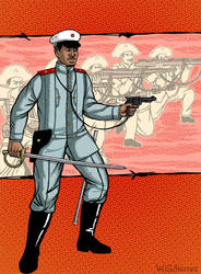 Captain Fagen by WylzGutierrez