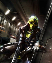 Mass Effect - Thane Krios by Madec-Brice
