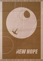 Star Wars New Hope Poster by StuntmanKamil