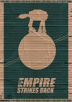 Star Wars V Poster by StuntmanKamil