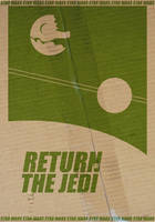 Return of the Jedi Poster by StuntmanKamil