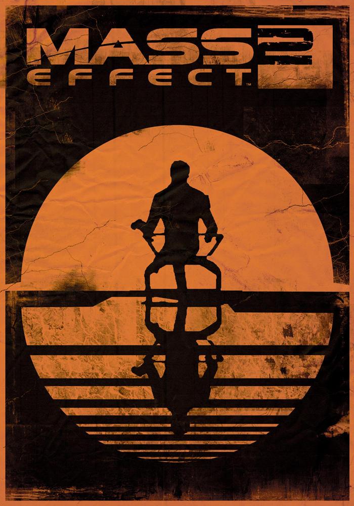 Mass Effect 2 POSTER by StuntmanKamil