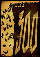 300 poster by StuntmanKamil