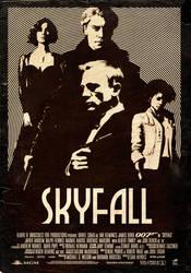 Skyfall poster by StuntmanKamil