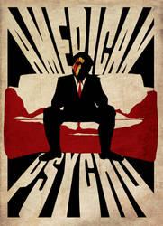 American Psycho POSTER by StuntmanKamil