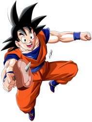 Son Goku V.2 by Krizart-DA