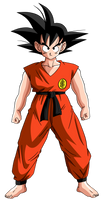 Dragon Ball  =Son Goku -teen- by Krizart-DA