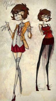 Velma Mystery Inc. by Eliotchan