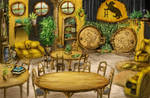 Hufflepuff Common Room by GnomeSchool