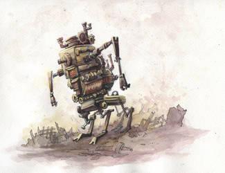 Rrrrobot by GnomeSchool
