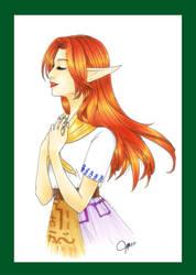 Gift: Adella by LiaAmari17