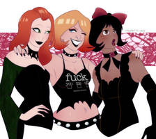 Totally Goth Spies by Ravenemore