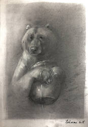 Winnie the pooh by Ephasme