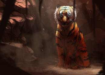 DTA : Tiger by Ephasme