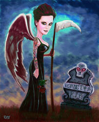 VENDETTA, Angel of Death by Pudsybear