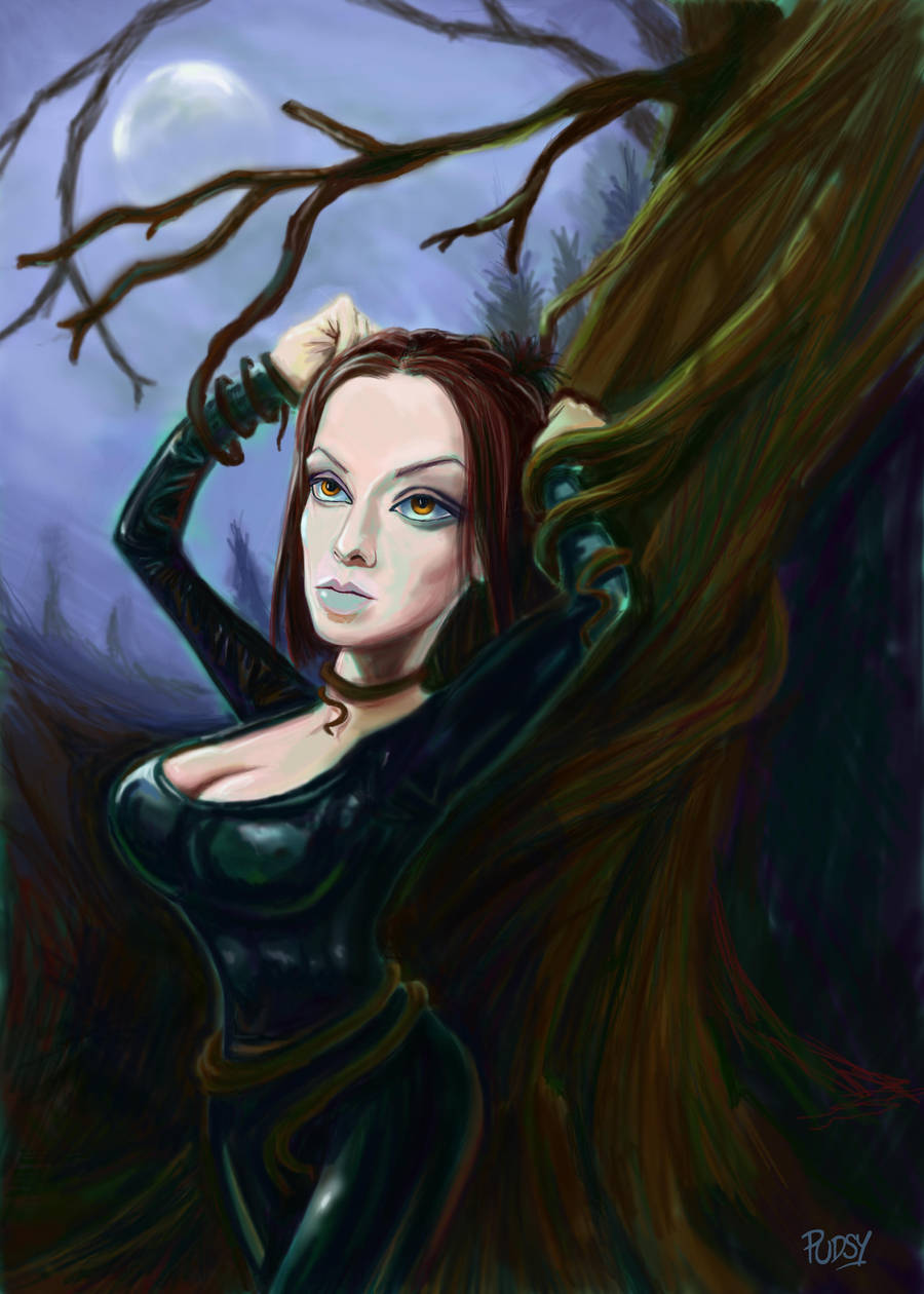 Stacey the Tree Captive by Pudsybear