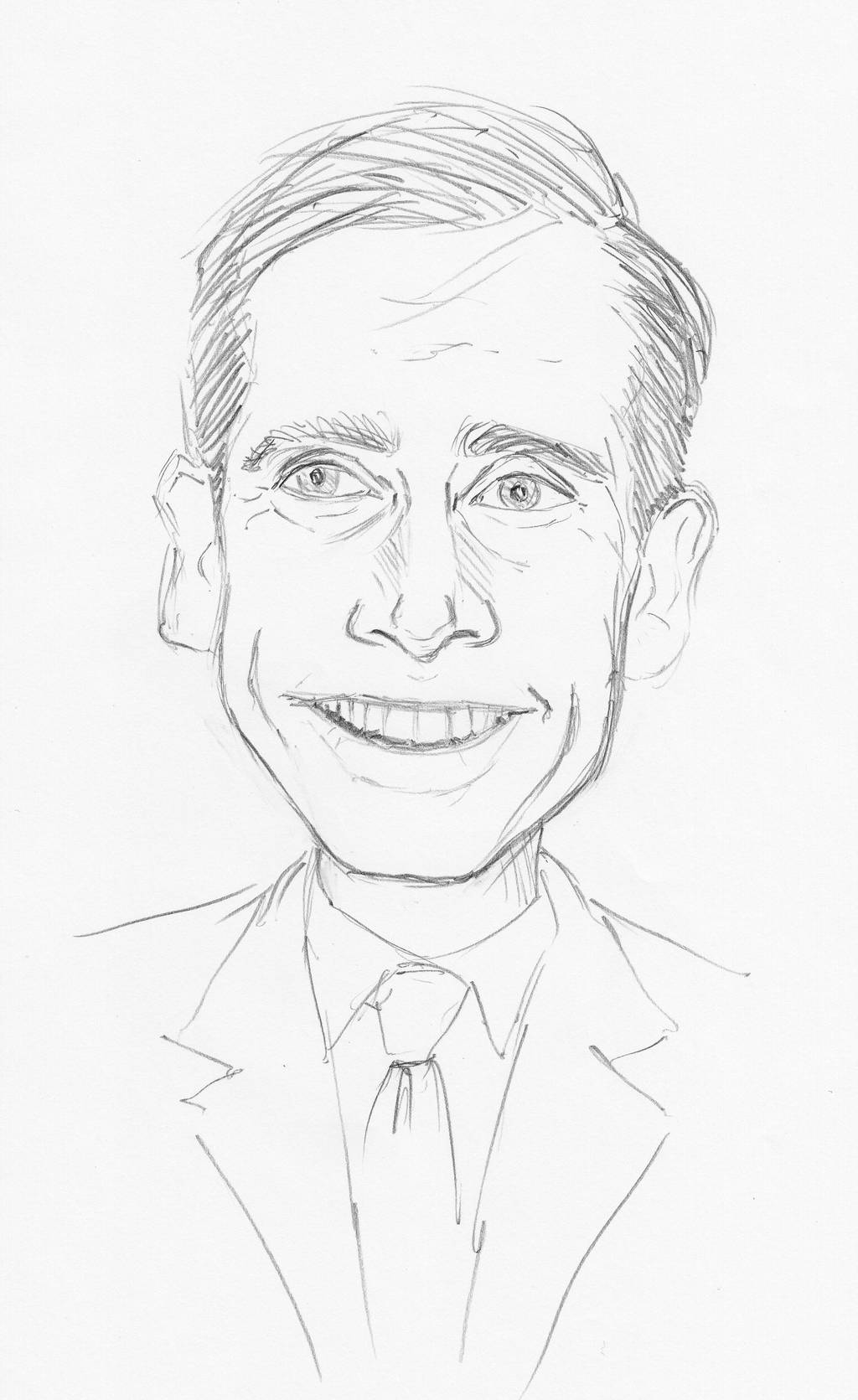 Steve Carell by Pudsybear