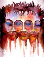 Jesus Trinity by LittleBDesigns