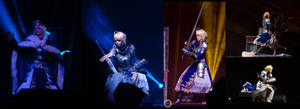 Fate/Stay Night - Saber ECG 2012 stage 2 by Calssara