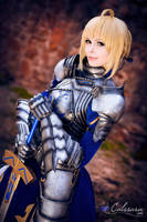 Fate/Stay Night - Saber 'Gift Version' VII by Calssara