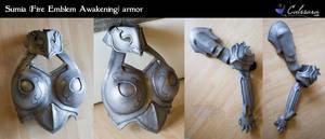 Sumia Armors (Fire Emblem Awakening) by Calssara