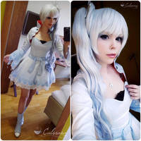 Weiss Schnee - RWBY Preview by Calssara